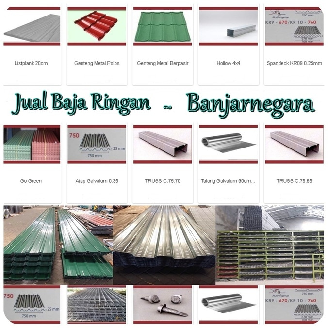 supplier baja ringan di semarang jual atap spandek banjarnegara telp 0813 1667 4567