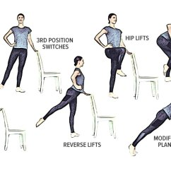 Youtube Chair Yoga Office Seat Covers Amazon Easy + Gentle Home Barre Workout (you Just Need A Chair!)