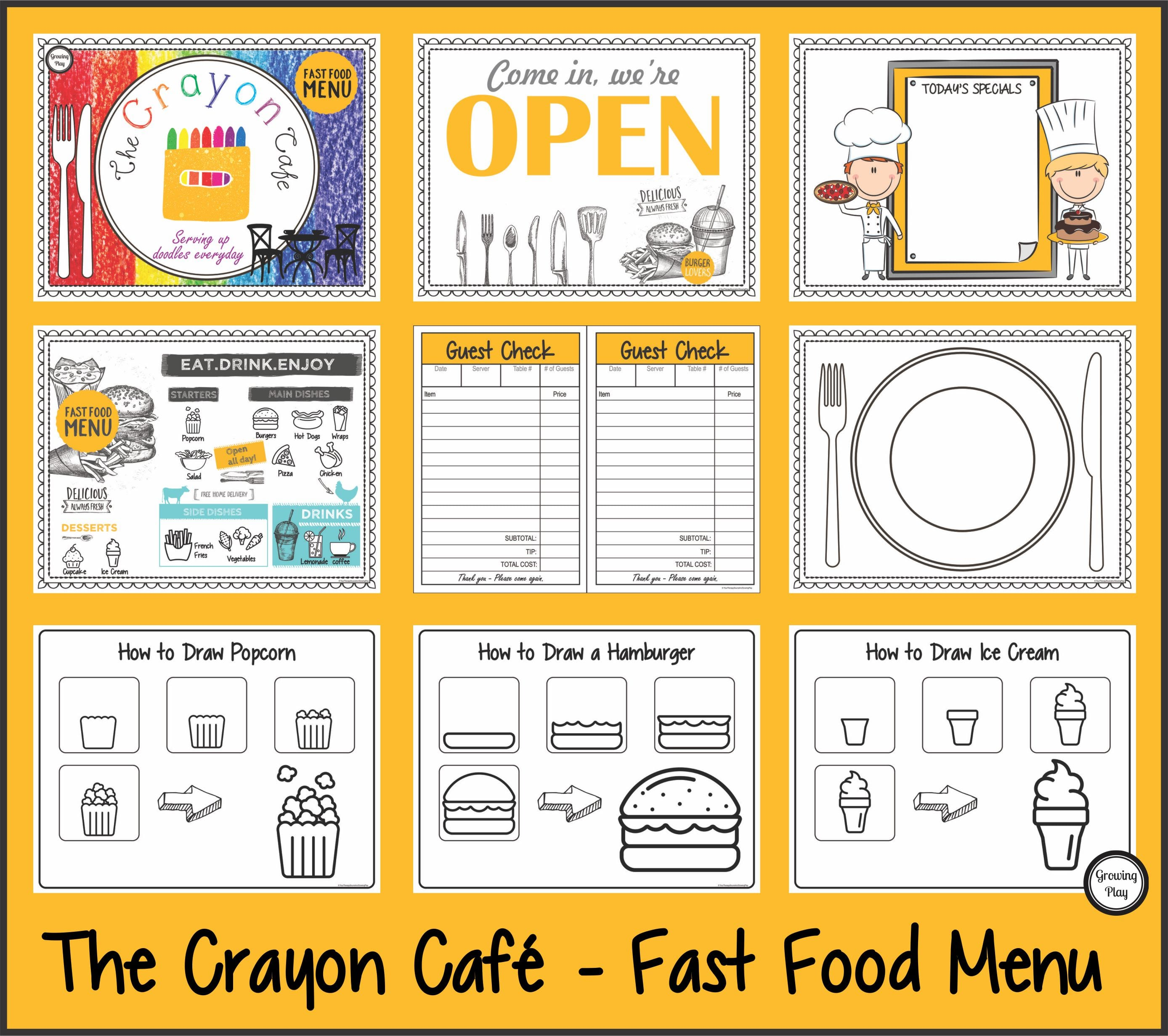 The Crayon Cafe