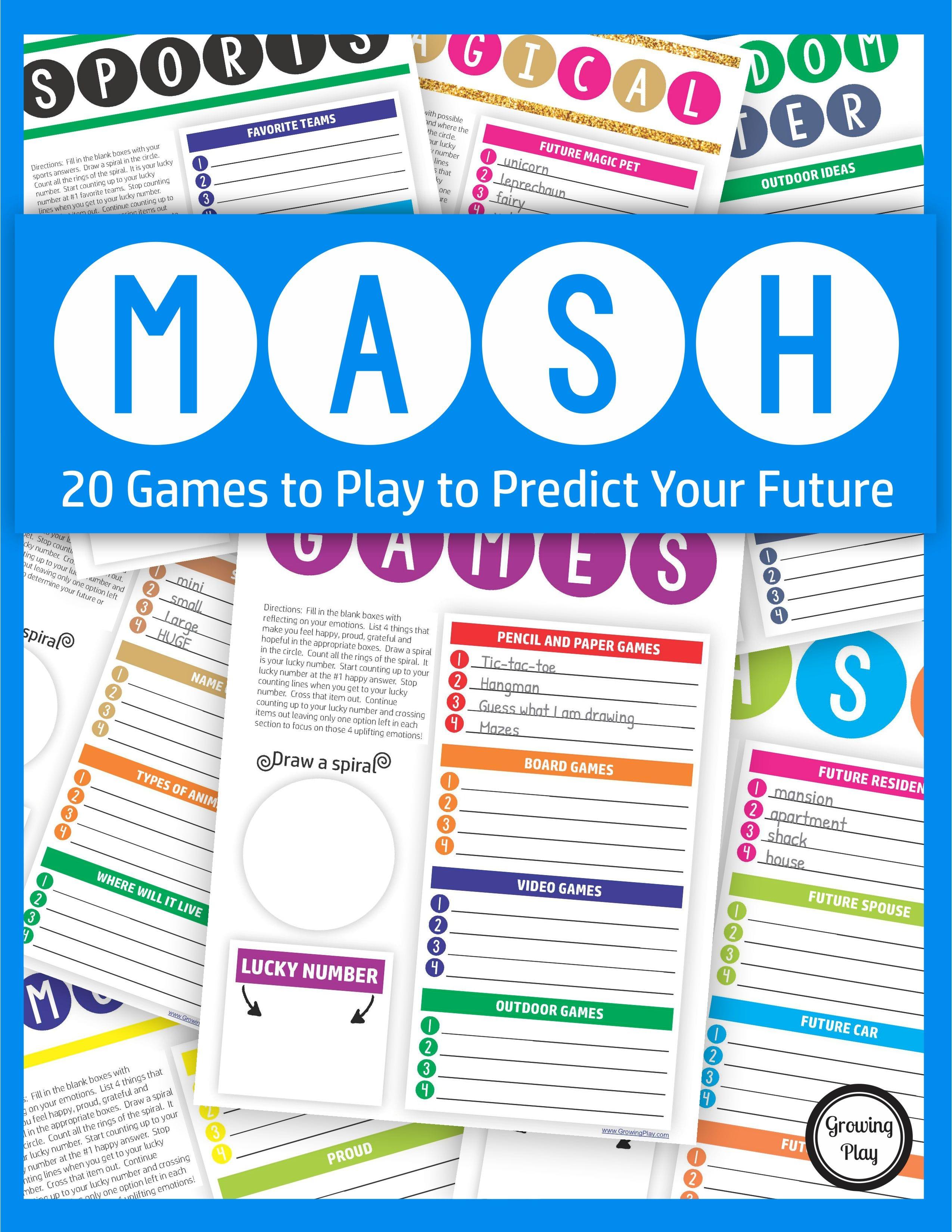 Mash Game