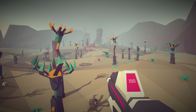 Low Poly Space Exploration FPS Morphite Blasts Off From