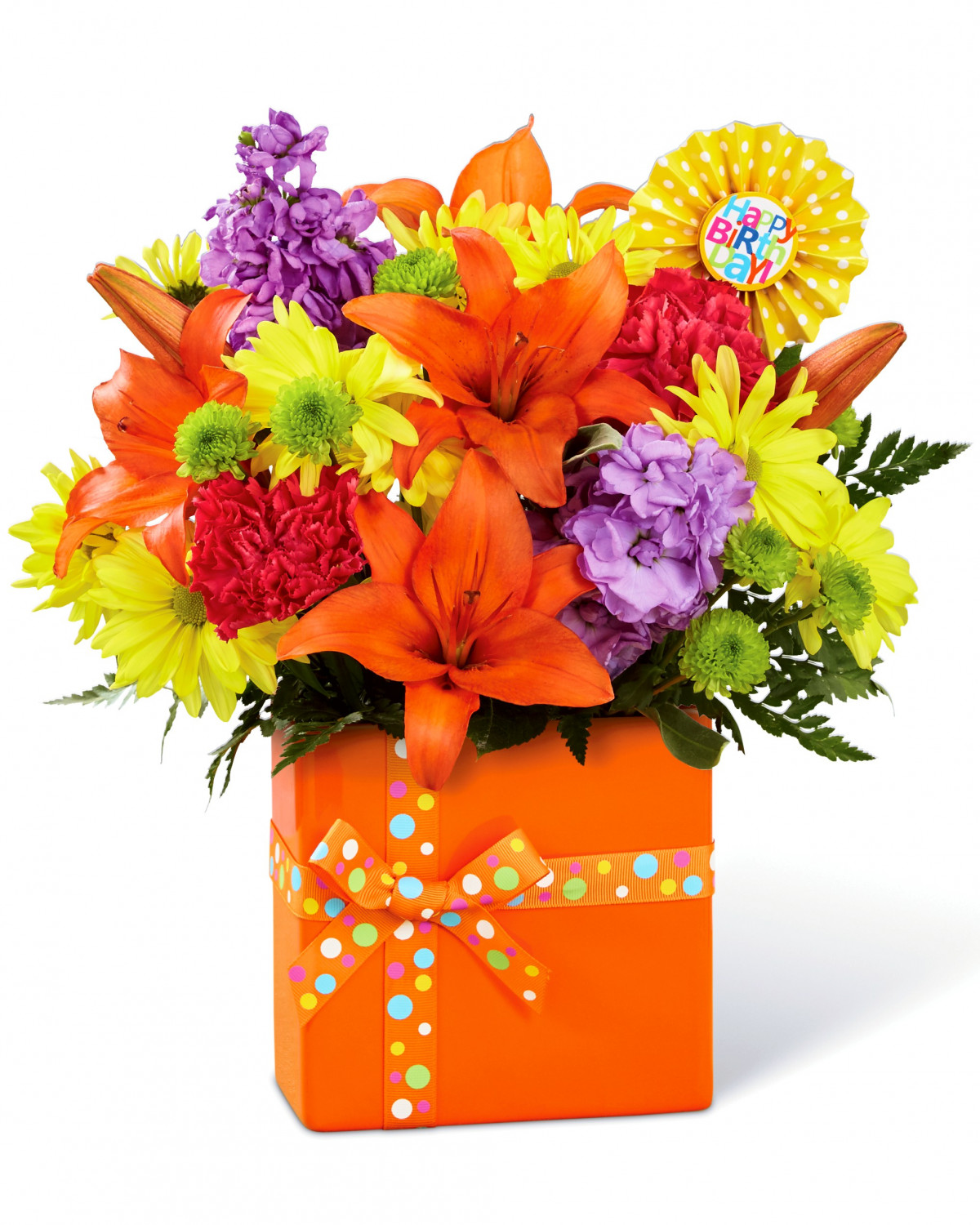 happy birthday flowers for