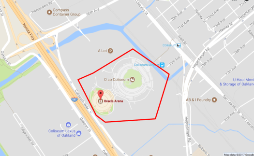 example geofence
