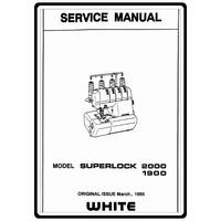 Instruction Manual, White 1900 : Sewing Parts Online