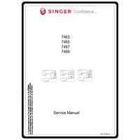 Instruction Manual, Singer 7463 Confidence : Sewing Parts