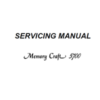 Instruction Manual, Janome MC5700 : Sewing Parts Online