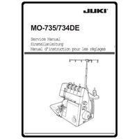 Instruction Manual, Juki MO-734DE : Sewing Parts Online