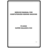 Instruction Manual, Brother PC-8500 : Sewing Parts Online
