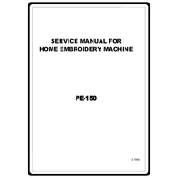 Instruction Manual, Brother PE-150 : Sewing Parts Online