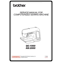 Instruction Manual, Brother QC-1000 : Sewing Parts Online