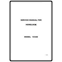 Instruction Manual, Brother 1034D : Sewing Parts Online