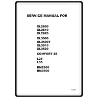 Instruction Manual, Brother XL-3500 : Sewing Parts Online