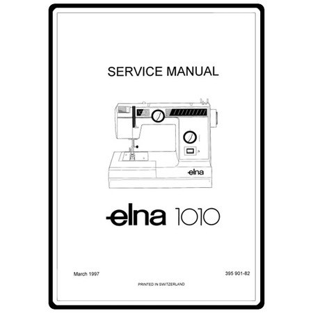 Service Manual, Elna 1010 : Sewing Parts Online