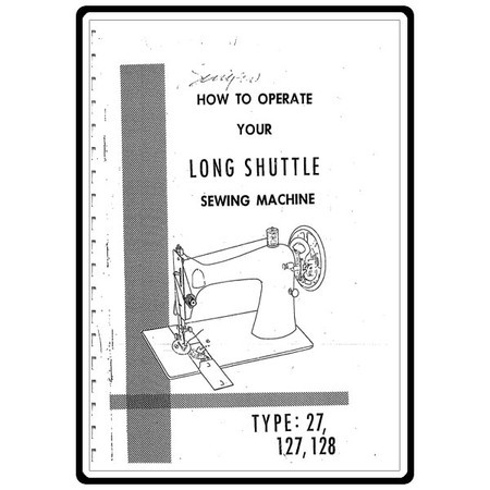 Instruction Manual, Singer 128 : Sewing Parts Online