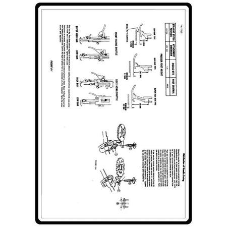 Service Manual, Kenmore 158.13180 : Sewing Parts Online