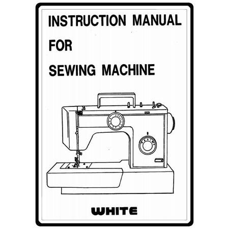 Instruction Manual, White 1632 : Sewing Parts Online