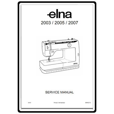 Elna Sewing Machine Parts List