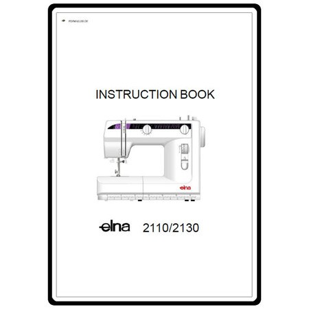 Instruction Manual, Elna 2110 : Sewing Parts Online