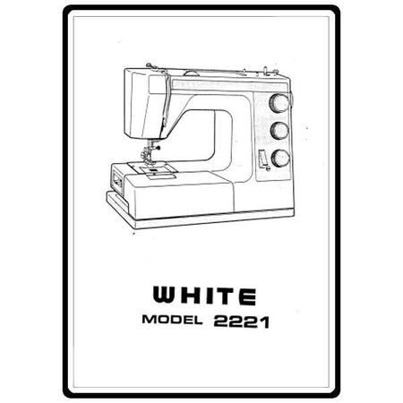 Instruction Manual, White 2221 : Sewing Parts Online