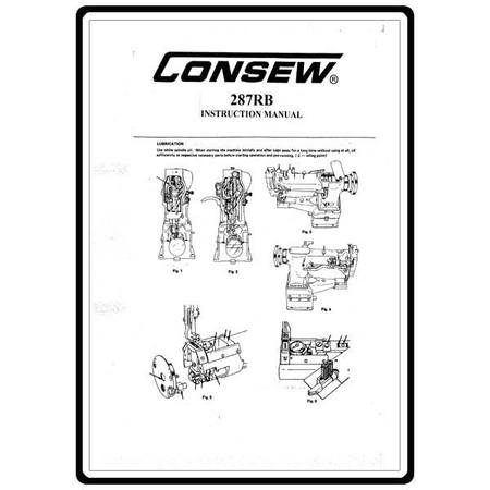 Instruction Manual, Consew 287RB : Sewing Parts Online