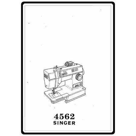 Instruction Manual, Singer 4562 : Sewing Parts Online
