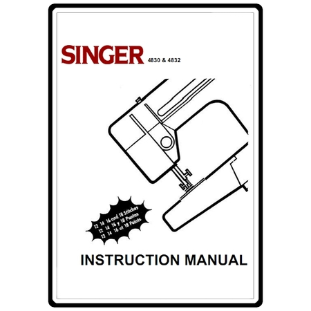 Instruction Manual, Singer 4830 : Sewing Parts Online