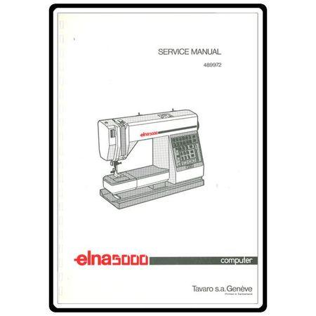 Service Manual, Elna 5000 : Sewing Parts Online