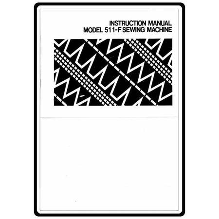 Instruction Manual, White 511-F : Sewing Parts Online