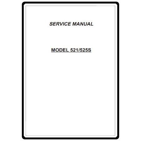 Service Manual, Janome 525S : Sewing Parts Online