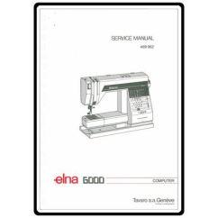 Elna Sewing Machine Parts Diagram Ct Kwh Meter Wiring Service Manual 6000 Online