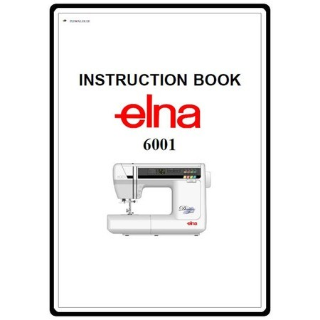 Instruction Manual, Elna 6001 : Sewing Parts Online