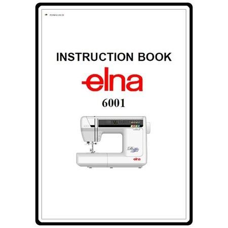 Instruction Manual, Elna 6001 : Sewing Parts Online