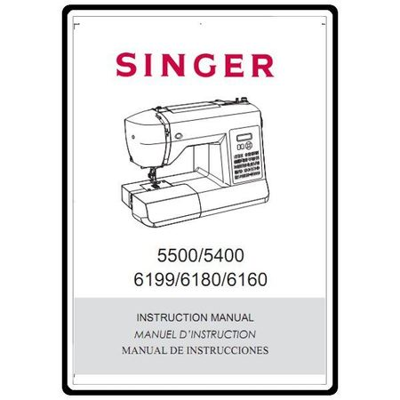 Instruction Manual, Singer 6160 : Sewing Parts Online