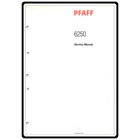 Service Manual, Pfaff 6250 : Sewing Parts Online