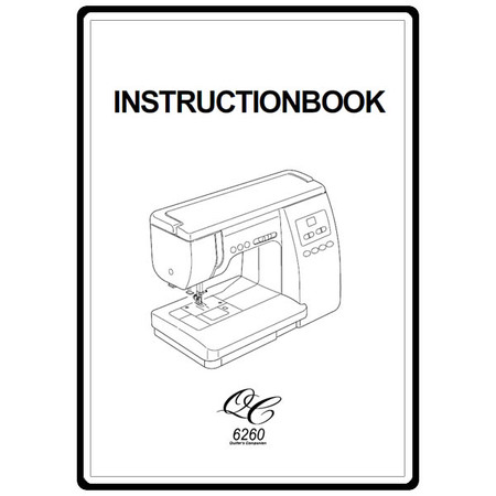 Instruction Manual, Janome 6260 : Sewing Parts Online