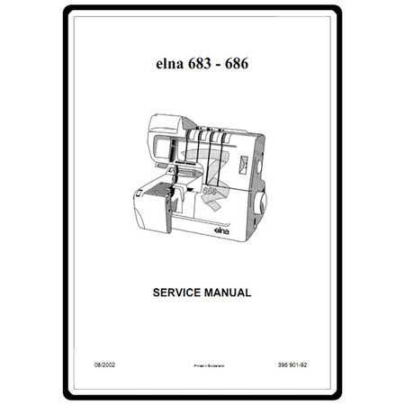 Service Manual, Elna 686 : Sewing Parts Online