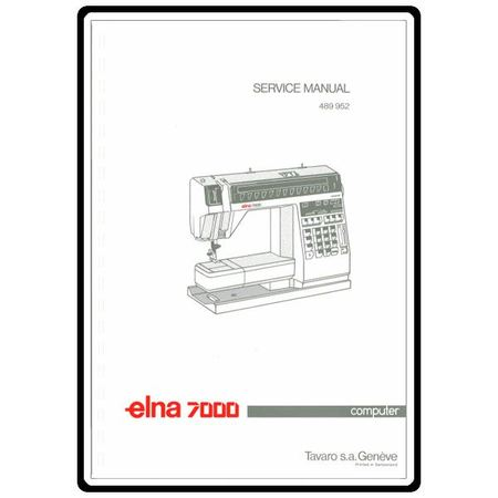 Service Manual, Elna 7000 Computer : Sewing Parts Online