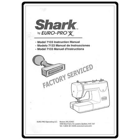 Instruction Manual, Euro Pro 7133 : Sewing Parts Online