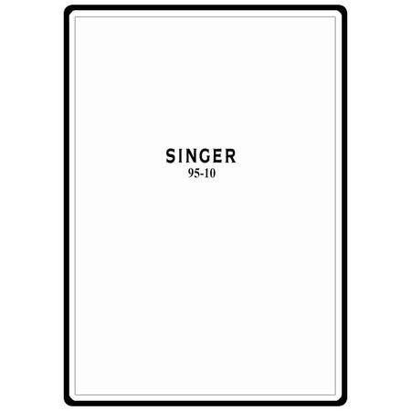 Instruction Manual, Singer 95-10 : Sewing Parts Online