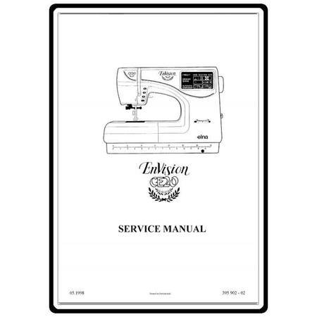 Service Manual, Elna CE20 EnVision : Sewing Parts Online