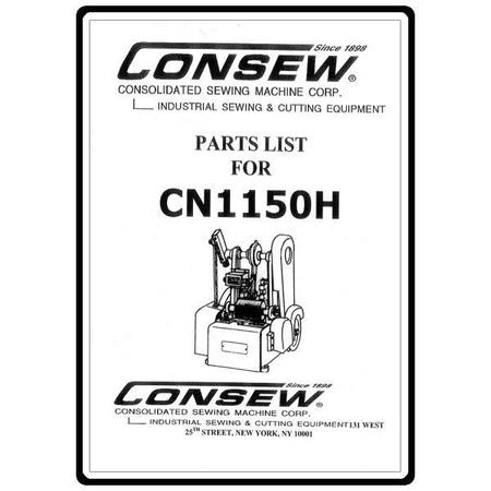 Instruction Manual, Consew 277RFS : Sewing Parts Online