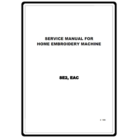 Service Manual, Brother EAC : Sewing Parts Online