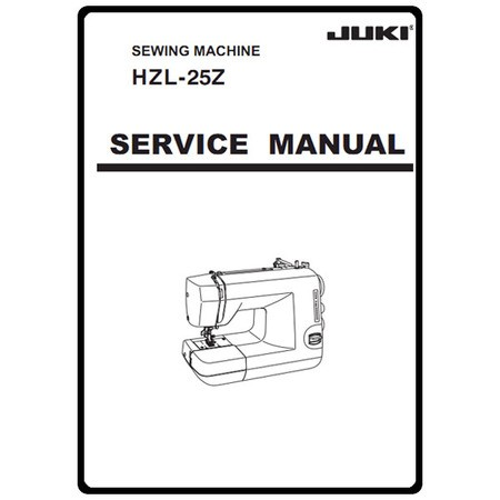 Service Manual, Juki HZL-25Z : Sewing Parts Online
