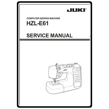 Service Manual, Juki HZL-E61 : Sewing Parts Online