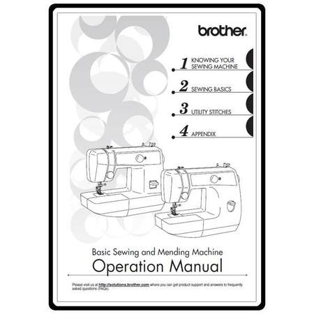Instruction Manual, Brother LS-2125i : Sewing Parts Online