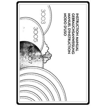 Instruction Manual, Elna 3007 : Sewing Parts Online