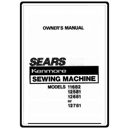 Instruction Manual, Kenmore 385.11682 Models : Sewing
