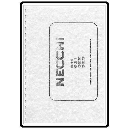 Instruction Manual, Necchi 521 : Sewing Parts Online
