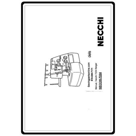 Instruction Manual, Necchi 7234 : Sewing Parts Online