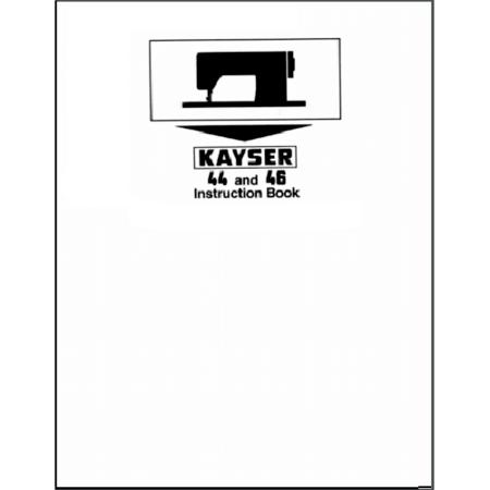 Instruction Manual, Pfaff Kayser 46 : Sewing Parts Online